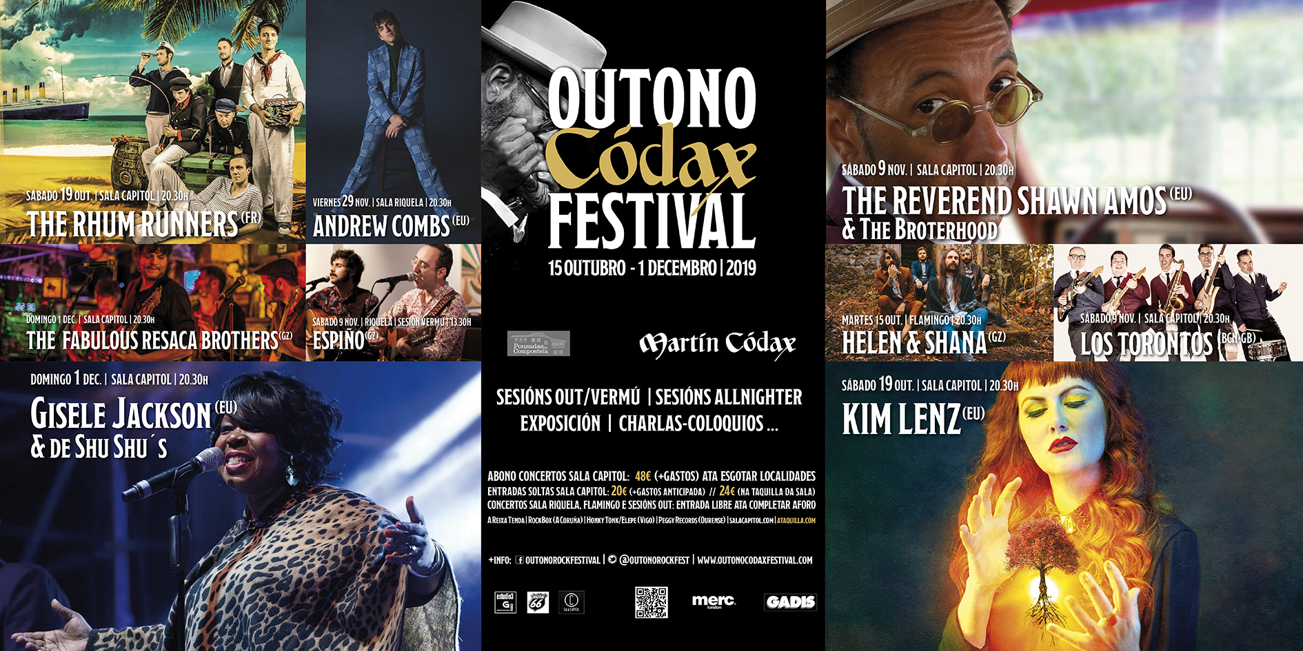 CARTEEL OUTONO CODAX FESTIVAL